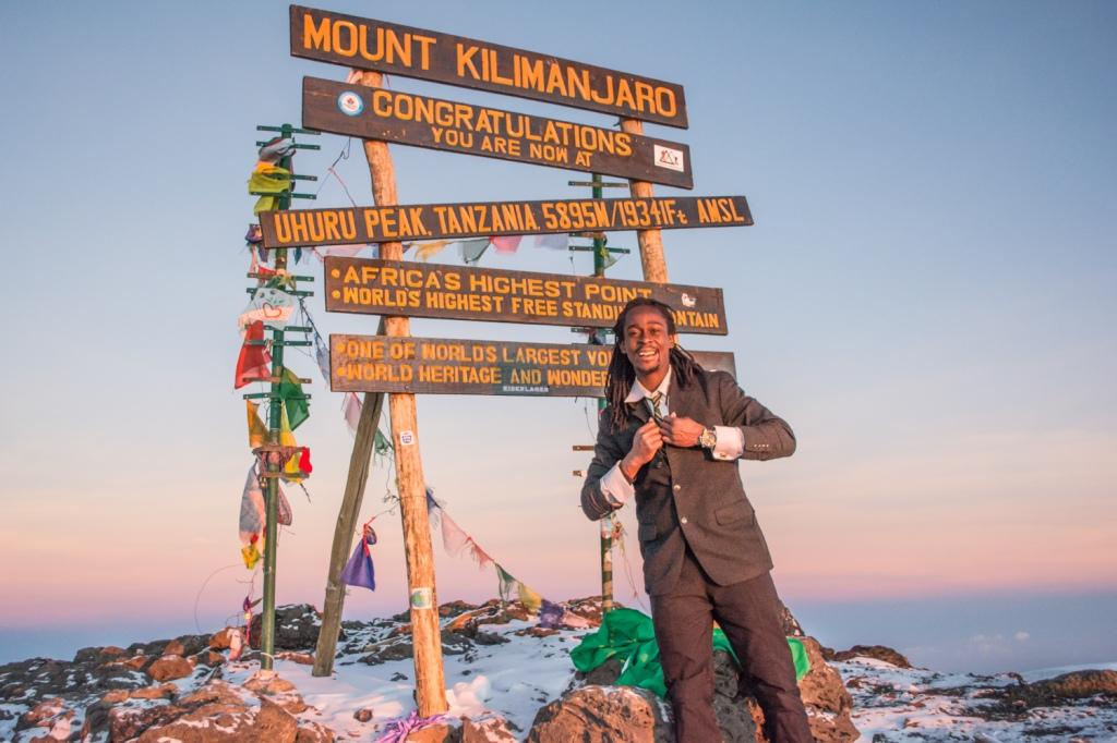 Uhuru Peak on Kibo