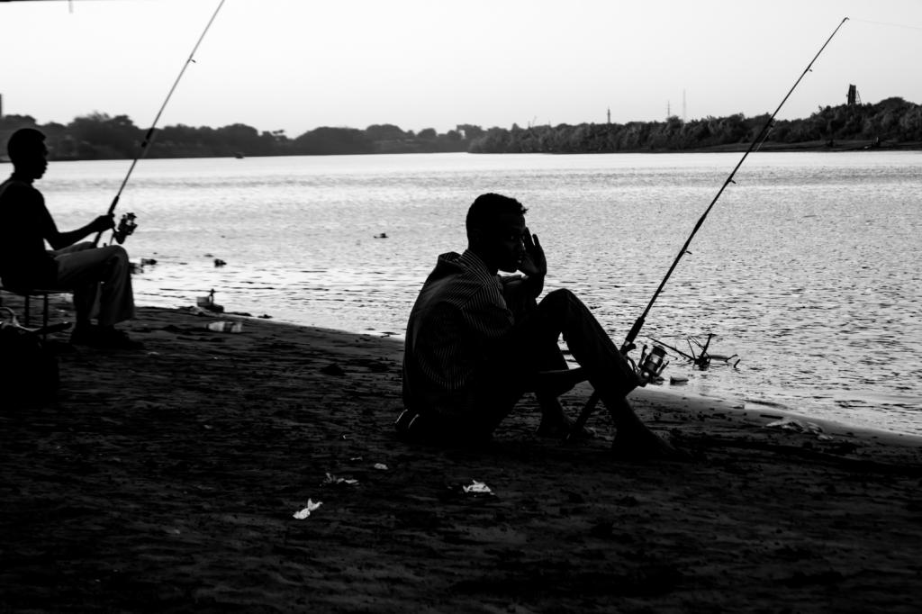 Nile fishing.