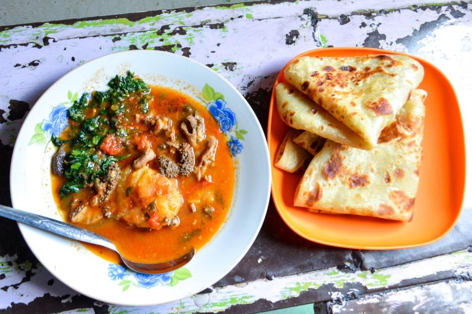 Dollar Menu: Chapati, Mchicha na Matumbo