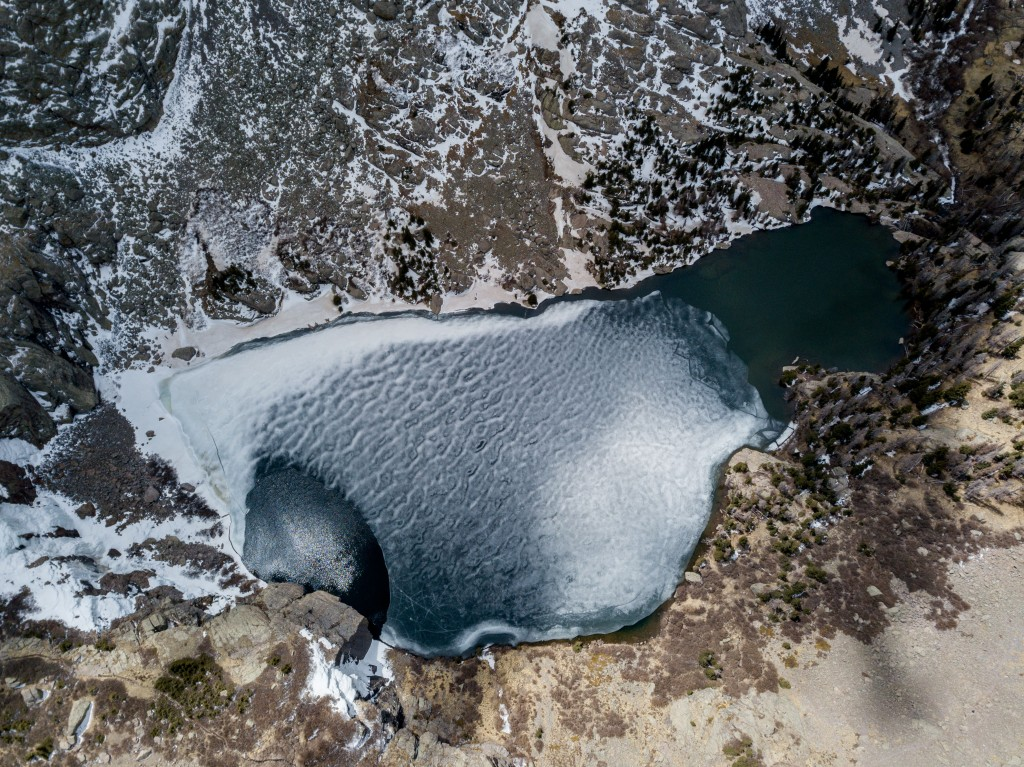 Willow Lake from aerial from dji Mavic Pro